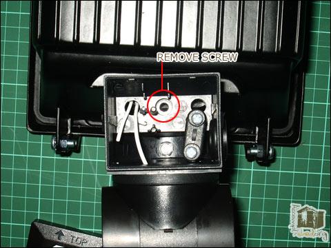 Removing PIR sensor