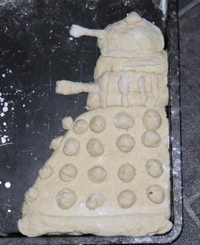 Dalek Bread closeup