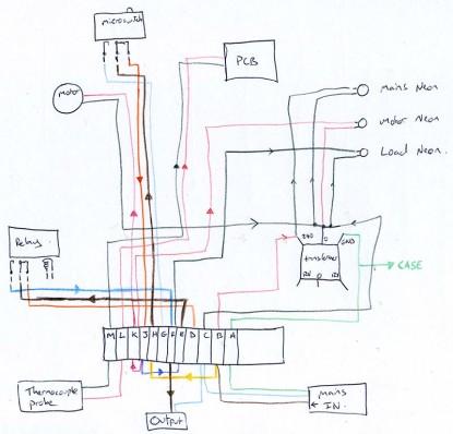 Pyrometer Schematic